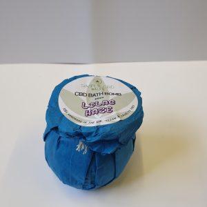 Lilac Haze CBD Bath Bomb